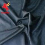 Terciopelo cortado espiga azul 100% lana de oveja tejido de lana de chaqueta, abrigo y vestido