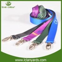 Cintas personalizadas económicas con la insignia impresa cintas de cuello personalizadas
