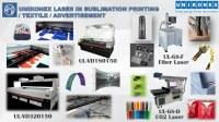 Utiliser largement le Laser dans les domaines de l'impression sublimée, du Textile et...