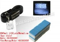Cinturón de cuero XF con la cámara para ver el mahjong marcada