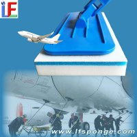 Aircraft Cleaning Brush Melamine sponge mop from lfsponge