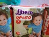 Libero up&go baby diapers