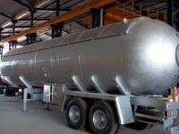 LPG Bobtail y tanque de camión usados