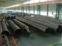 LSAW/SSAW welded steel pipe big diameter