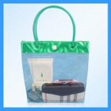 PVC cosmetic bag / plastic wash bag