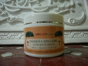 Masque Capillaire à l'huile d'Argan