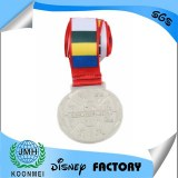 Factory custom metal gold medal silver medal round medal square medal