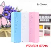Cargador de movil de 2600 mAh Banco de potencia portátil USB perfume sección cargador...
