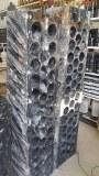 Soporte para botellas de mármol fosilizado