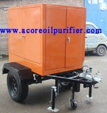 Máquina de filtración de aceite para transformador móvil Fabricante