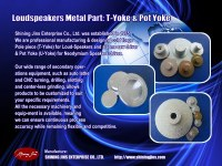 Cold forging loud-Speakers part: Top Plate and Pole Plate