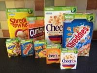 Desayuno con cereales Nestlé