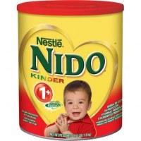 Nestle Nido Leche en polvo tapa roja también está disponible