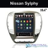 Pantalla vertical central multimedia Nissan Sylphy GPS de navegación de fábrica