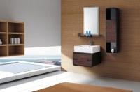Cuarto de baño moderno gabinete de la vanidad