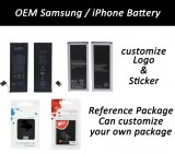 OEM Samsung y batería del iPhone