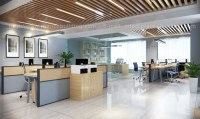 Office building customized square tube ceiling