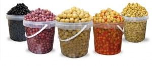 Olives en boites