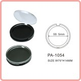 Forma redonda vaciar polvo compacto caso Cosmetics Packaging