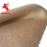 Caqui de doble cara de lana de oveja y mezcla de tejido de poliamida pashmina de chaqueta, abrigo...