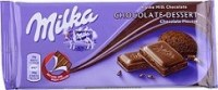 Palette Milka dessert chocolate