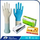 ECO-friendly CE ambidiestro médico vinilo examen guantes no estéril