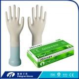 Fabricante de 9 '' guantes de examen desechables Hospital de vinilo