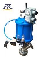 Válvula inferior rasante, válvula de ángulo inferior del tanque neumático, válvulas inferiores de...