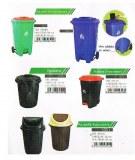Contenedores de residuos plásticos ambientales