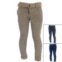 15x pantalones de terciopelo delgado Tom Jo de 6 a 14 años