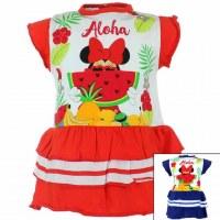 10x Minnie vestidos de 3 a 24 meses