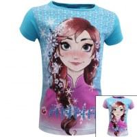 12x camisetas de manga corta Frozen de 2 a 8 años