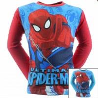 12x Spiderman Camisetas de manga larga de 2 a 8 años