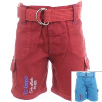 8x Pantalones cortos Lee Cooper cinturón de 6 a 24 meses