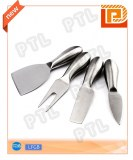 Stainless steel cheese set with hollow handle(knife&fork&spatula)