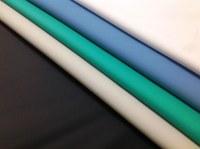PU impermeable recubierto de tela Delantales y baberos para adultos