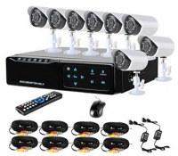 2.5inch HDD mini 8ch DVR Kits with 8pcs 600TVL camera TTB-7108ME8 :www.ttbvs.com