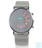 Grossiste, fournisseur et fabricant LW5/Newest Mirror Face Binary LED Steel Watch for...