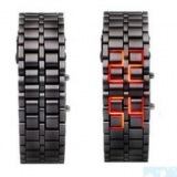 Grossiste, fournisseur et fabricant LW1/Iron Faceless Red Binary LED Wrist Watch