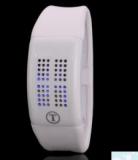 Grossiste, fournisseur et fabricant lw14/montre en silicone doux affichage 60 led