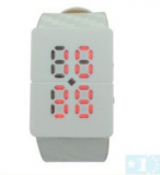 Grossiste, fournisseur et fabricant lw30/red led fancy crystal digital binary wrist watch white