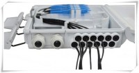 Capa de FTTH 16 puerto inferior de fibra óptica Caja de terminación / Caja de distribuc...