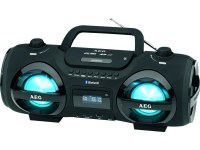 Radio Stéreo AEG SR 4359 BT Soundbox CD/MP3 Bluetooth (noir)