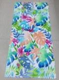 Impresión reactiva 30  60inch 350gsm 100% algodón toalla de playa de terciopelo