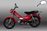 Nueva motocicleta 50cc