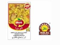 Plats préparés halal - Riz avec poulet au curry