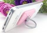 Cell phone finger grip ring holder