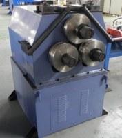 Máquina de doblado automática del rodillo de la pipa con la curva del empuje para el radio grande...