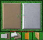 RYMAX acústica suave paquete | PU / arte del paño acústico Panel | Cojín insonorizadas