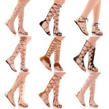 Lot de chaussures liquidation sandales femme gladiator spartiate